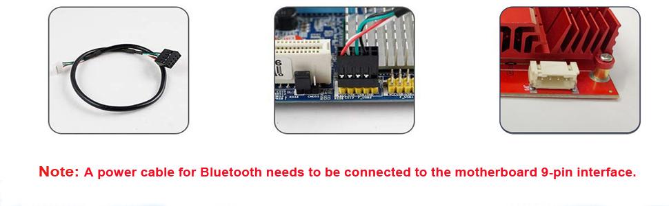 Bluetooth wifi card