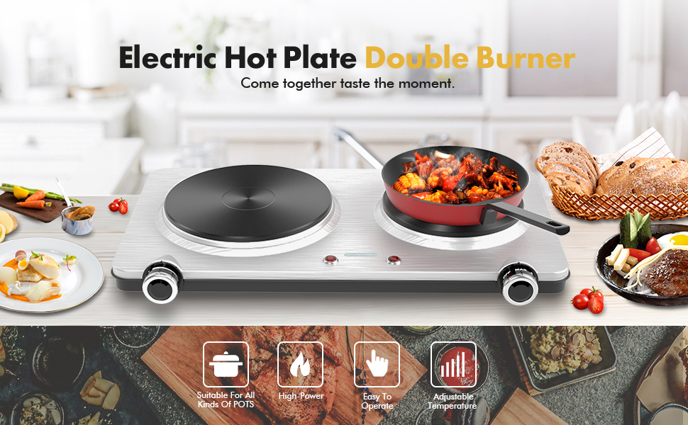 electric hot plate double burner-2