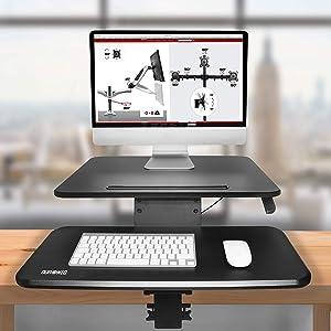 Duronic DM05D13 Estación de Trabajo para Monitor con Altura ...