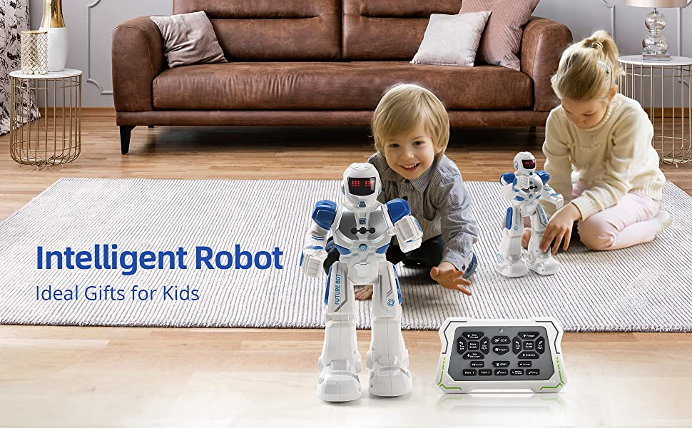 Ideal gift for kids present robot toys