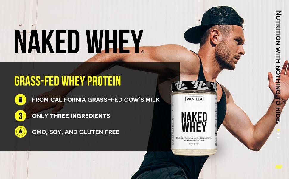 grass-fed vanilla whey protein powder, vanilla whey protein powder, 1lb vanilla whey protein powder