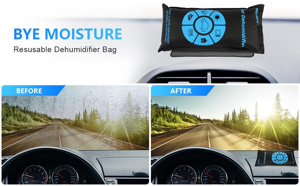 Car Dehumidifier Bags Reusable