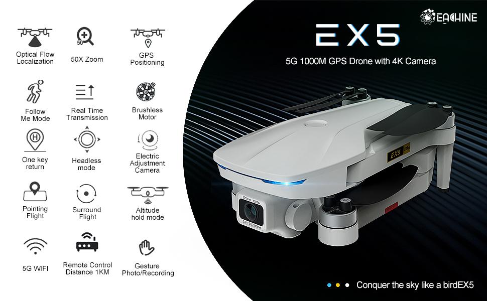 Drone wirh 4K UHD CAMERA