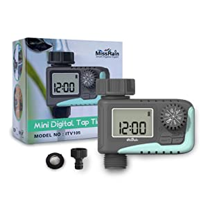 Water timer, quick connector and user manual are in one package.