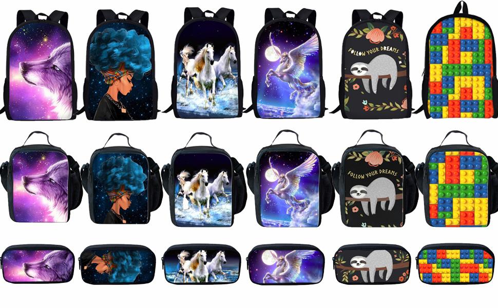 Middle School Backpack Set