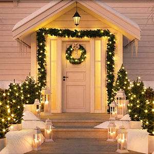 warm led christmas lights