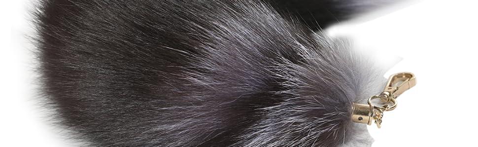 Multi-variety fox tail