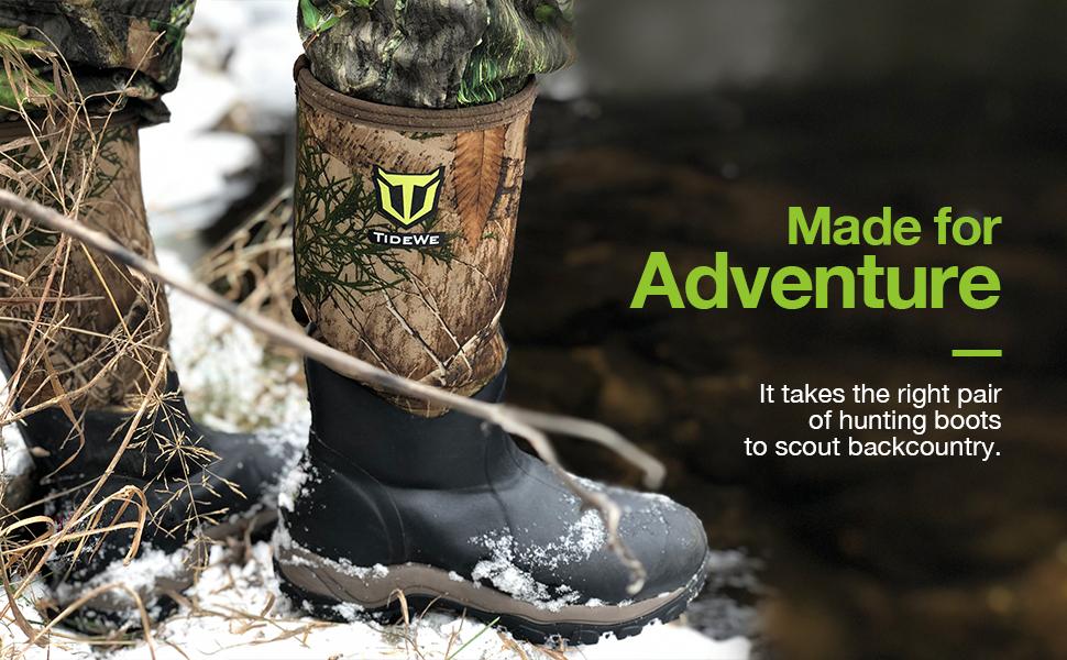 Amazon.com: TIDEWE Hunting Boot for Men