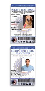Service Dog ID tags