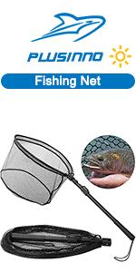 PLUSINNO Fish Landing Net