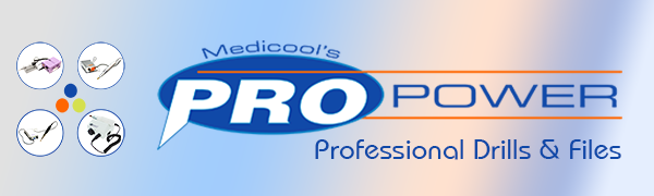 Medicool Pro Power Professional Drills & Files