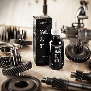 beard oil with box