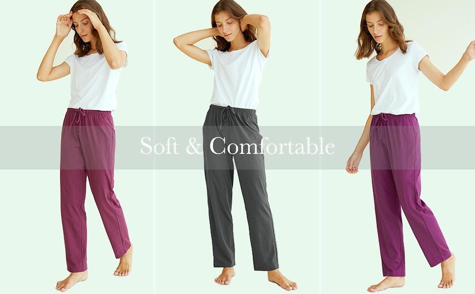 cotton pajama pants for women