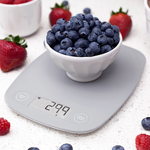 Greater Goods Digital Food Kitchen Scale, Multifunction Scale Measures in Grams and Ounces