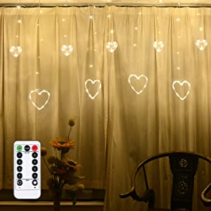 Remote Control Curtain Ligh