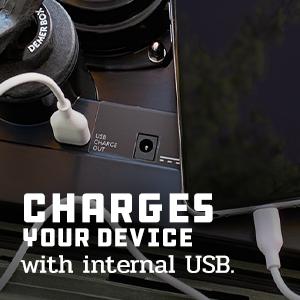 USB charging waterproof bluetooth speaker portable outdoor rugged loud speakers demerbox stereo