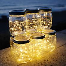 manson jar lights