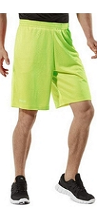 TSLA Mens 5 inches Quick-Dry Running Active Performance 2 In 1 Shorts MBH45