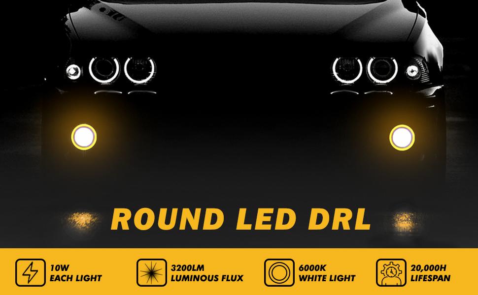 car round drl