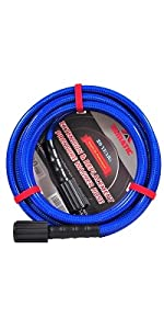 Ultra Flexible 3200 PSI 50 FT Pressure Washer hose
