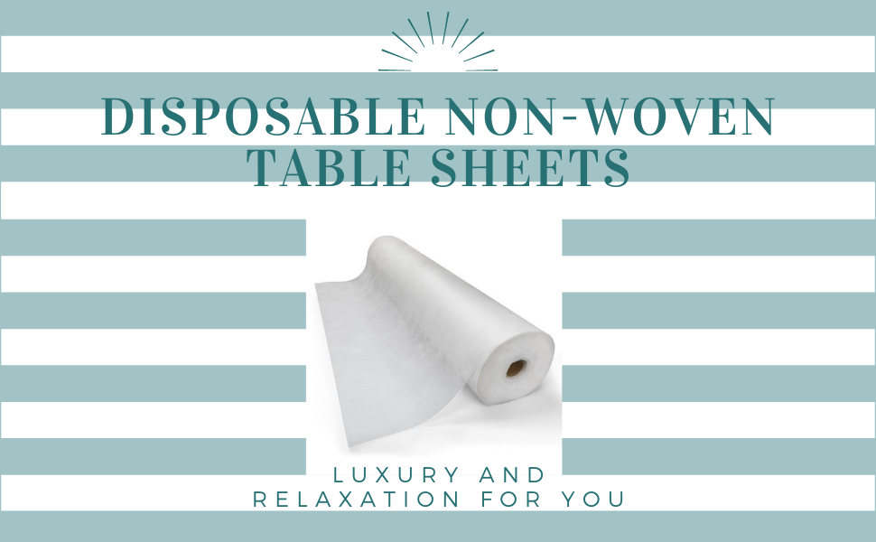 Disposable non-woven tablet sheets rolls
