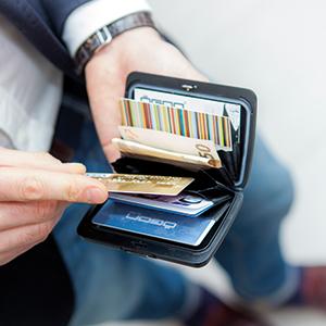 wallet, rfid wallet, aluminium wallet, card holder, slim wallet, men wallet, metal card holder