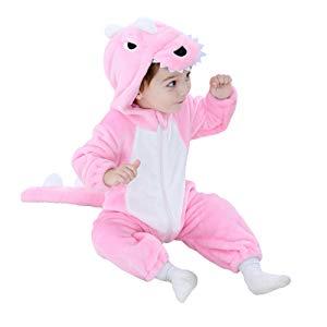 Disfraz Dinosaurio Dragon beb/é Animal Onesie Dinosaurio Pijama Regalo de cumplea/ños para beb/é ni/ño