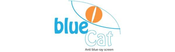 bluecat, lumière bleue, filtre, uv, yeux, lunettes, lunettes