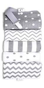 CuddleBug Baby Burp Cloths