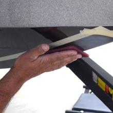 scuff buster bow 27041 flex step 80638 skegguard skeg bumper repair kit liner paint sealer sealant