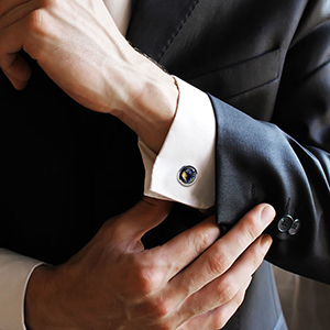 Cufflinks for business meetings
