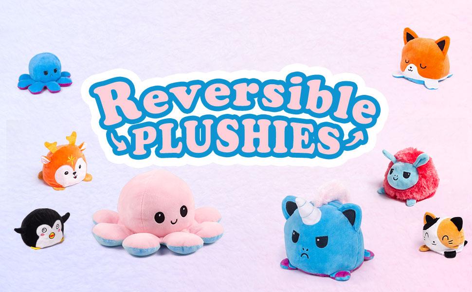 reversible plush