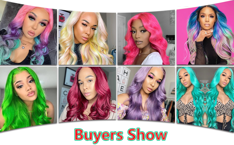 blonde wig lace front human hair