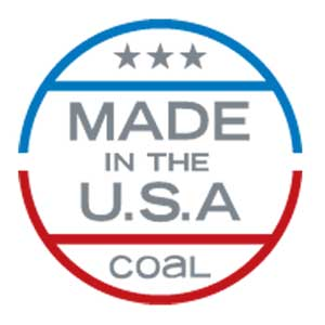 coal made in the usa symbol
