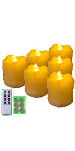 Votive Candles-Dripping