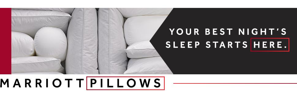 Marriott Pillows Your Best Nights Sleep Starts Here