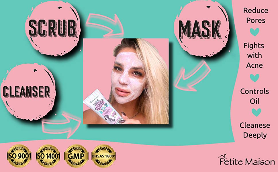 face scrub mask cleanser