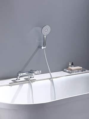 Thermostatic Bath Tap deck mounted