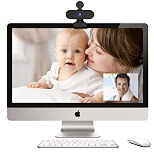 Windows Hello Webcam PS4 Face Cam Razer Kiyo Mac Webcam 30FPS HD Pixel Voice Recording Pictures