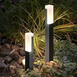 Topmo-plus Lámpara de jardín/Poste de Exterior iluminación / 7W ...