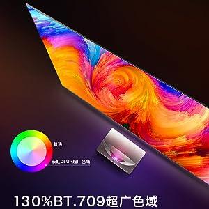 130% BT.709 Color Gamut