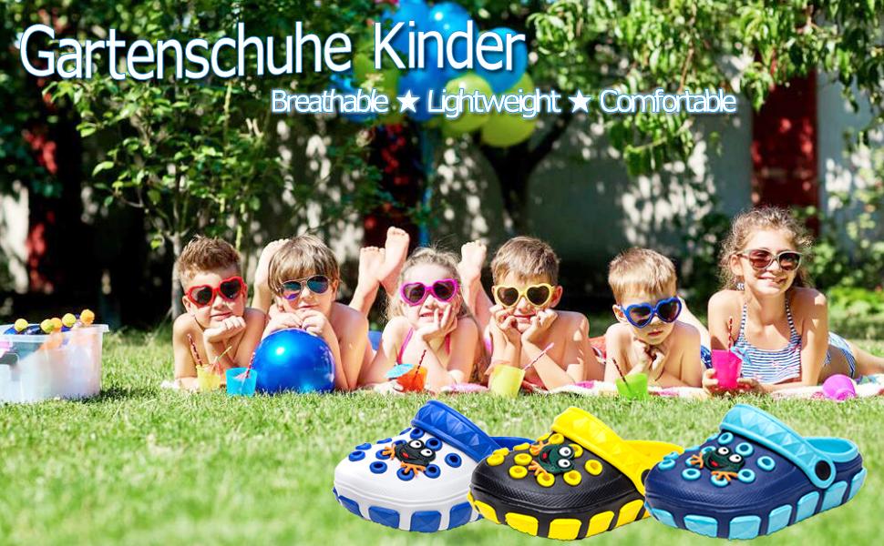 Kleine Tomate Sabots et Mules Enfants Sabots Pantoufles Chaussures Mixte Enfant B/éb/é Fille Gar/çon Antid/érapant Et/é Piscine de Jardin 24-39