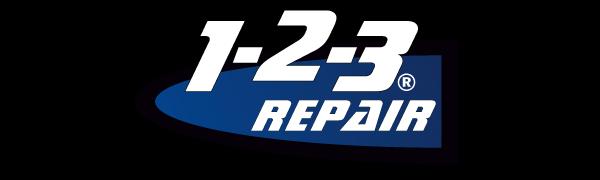1-2-3 REPAIR Logo