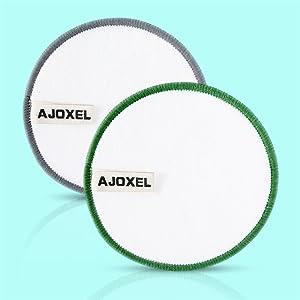AJOXEL Discos Desmaquillantes Reutilizables, 16Pcs Almohadillas Desmaquillantes Reutilizables con Bolsa de Lavado y Bolsa de Almacenar, Hechos en ...