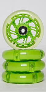 scooter wheels 100mm