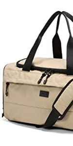 vooray xl boost duffel big weekender waterproof anti theft carry-on travel trip shoe pocket large