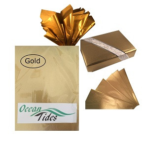 Colours Dark Green Acid Free Tissue Paper Sheets A4 Gift Wrapping Packaging 20