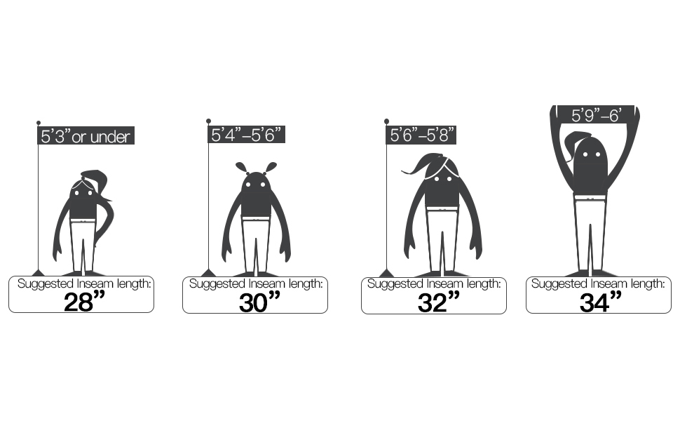 bell jeans size chart