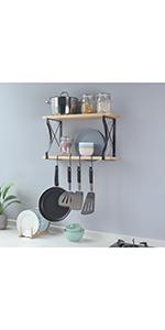 wall hanging pot rack