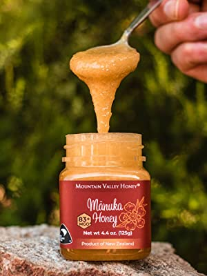 new zealand manuka honey raw natural unpasteurized pure gourmet gift box health sweet gifts men